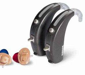 斯达克耳背式助听器
